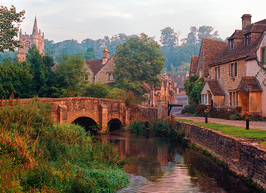 First Light - Castle Combe, England