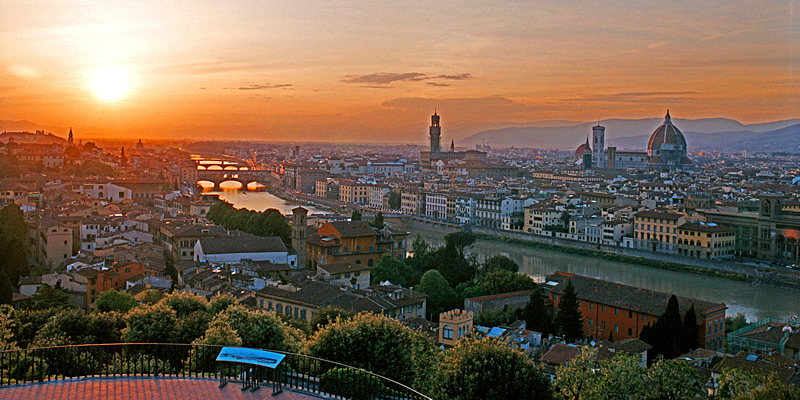 Florence Overview - Italy